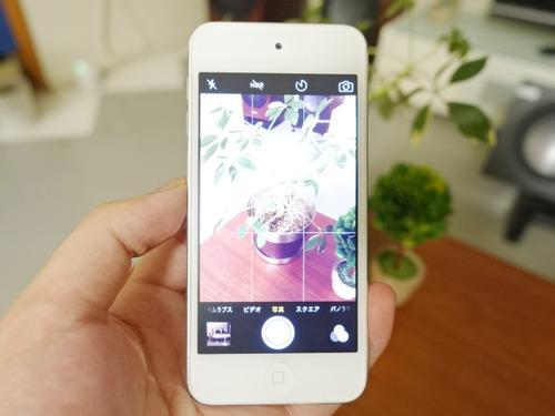 iPhone 写真 シャッター