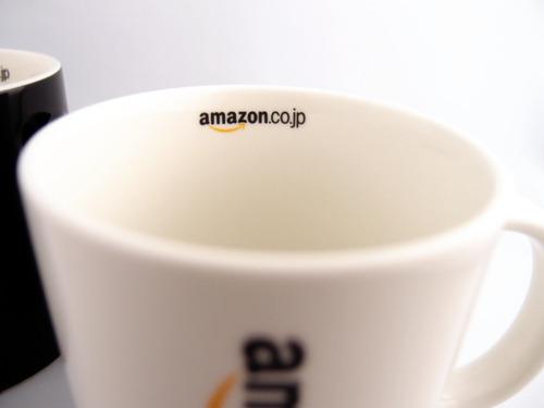 Amazonオリジナル マグカップ 中ロゴ