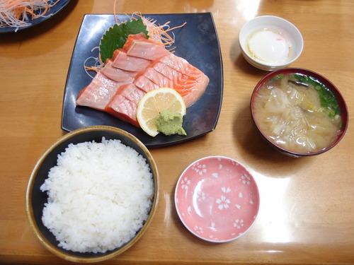 おはよう堂 鮭 定食