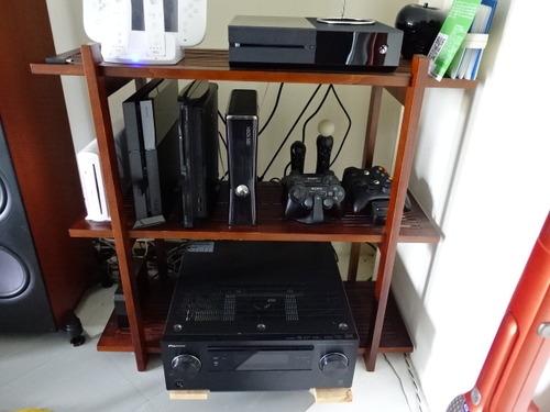 ゲーム機棚