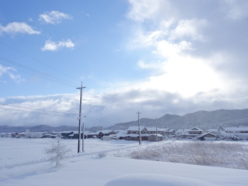 大雪 鳥取
