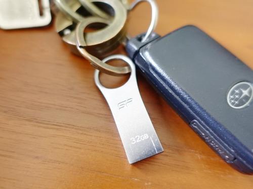 キーホルダー USBメモリ