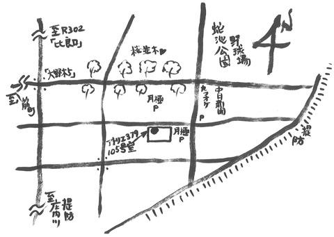 アトリエヨガ地図ブログ用