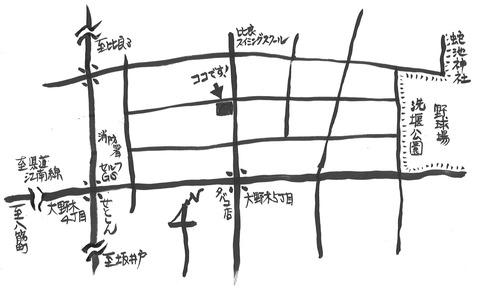 いちごハウス地図2