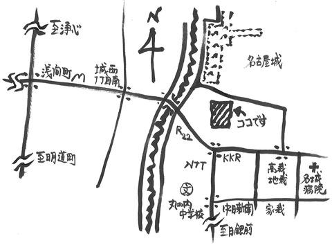 名古屋能楽堂地図