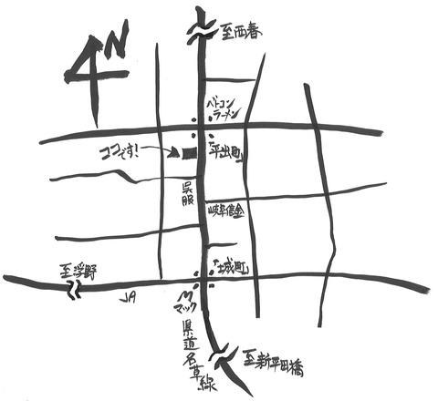 プランタン地図ブログ