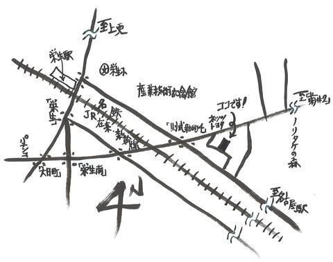 SUZUYOGA地図ブログ用