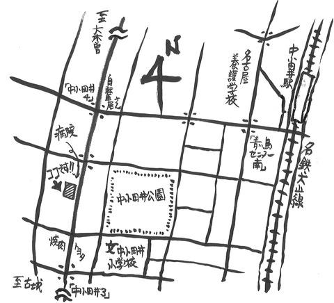シュエット地図