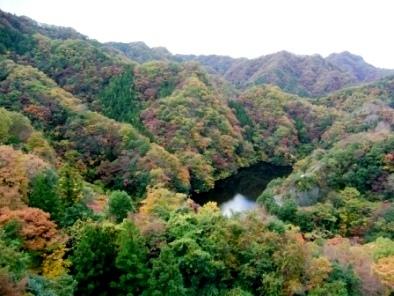 竜神大橋からの景色