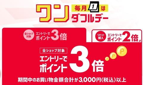 【楽天市場】毎月1日だけの限定キャンペーン『ワンダフルデー』