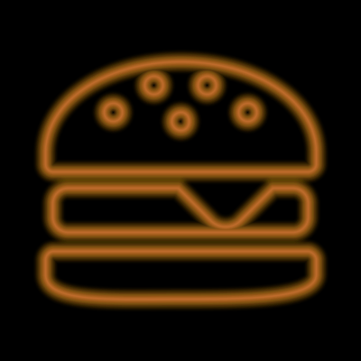 hamburger_neon