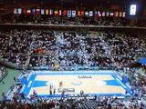 世界バスケ会場