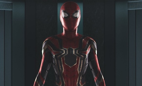 iron spider homecoming
