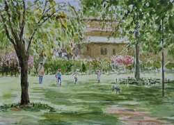 20-4-23枝垂桜の公園