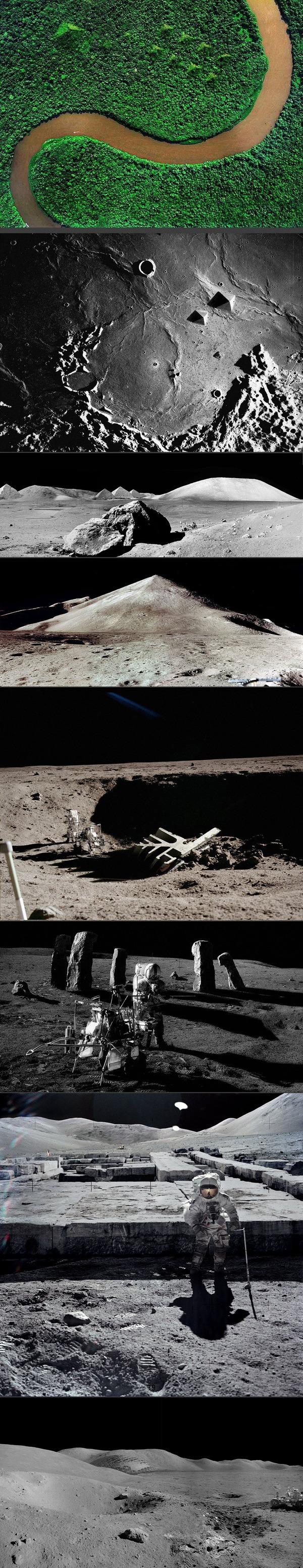 【遂にきた真実】ウィキリークスから超古代文明を確定させる写真がボロウされる【月ピラミッド】