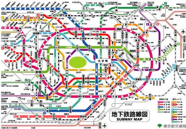 路線図 東京