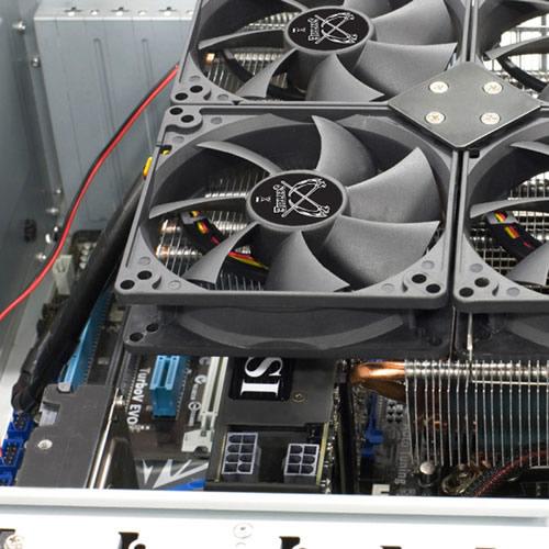 Mini-ITXマザーボードよりも大きい巨大CPUクーラー「スサノヲ(SCSO-1000)」が今週末、サイズから発売