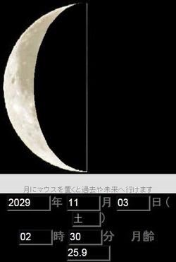 月2029年