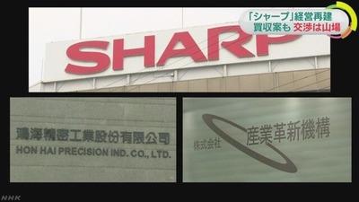 シャープ 鴻海 K10010342351