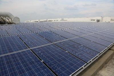 台中森勁太陽光発電所