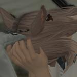 れびーFF14_うさみみ顔を覆う