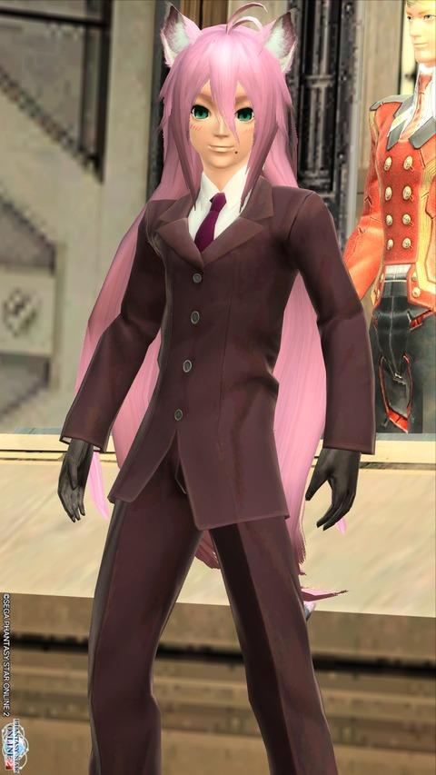 しざらちゃんスーツで。