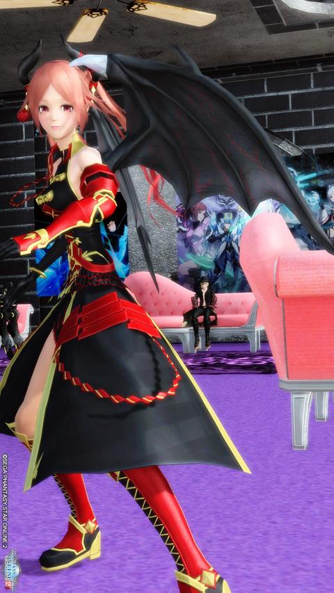 ダンスする竜神