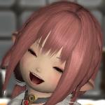 イヅミFF14_笑顔