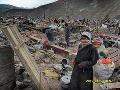 ジェクンド地震被災地