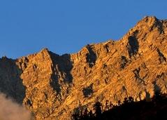 ダラムサラの裏山