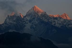 ターメよりの名峰三山
