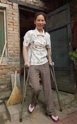実刑判決を受けた中国の元弁護士、倪玉蘭被告