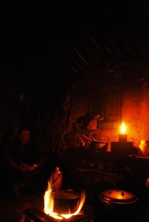 チュレのアン・サンポの小屋