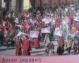 アムド ラプラン僧院僧侶の行進
