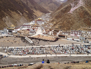 Silkar-monastery-in-Chendo-county-Qinghai