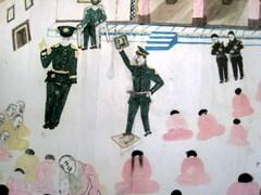 ダラムサラ難民一時収容所・子供の絵2
