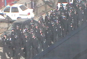 003People's Armed Police at 5pm 16 March 2011 in main market 4