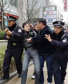 河崎真澄撮影:上海市内の人民広場