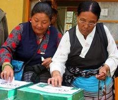 ダラムサラ、10月3日 投票日