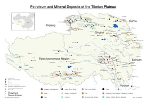 Mineral Deposits of the Tibetan Plateau