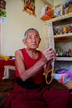 僧トゥプテン・ツェリン83歳3