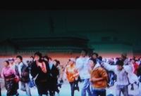 アムド、ラプラン中等学校でのデモ