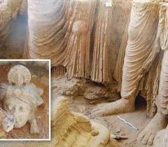 アフガニスタンのガンダーラ仏教遺跡