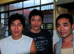 ルンタ・レストランの三人組