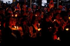 10.3.09 ダラムサラ、燈明の集い