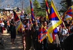 10.3.09 Dharamsala デモ