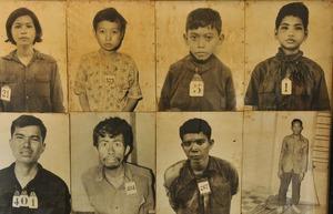 ツールスレン収容所に収容されていた囚人たち