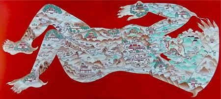 ペンパ・ワンドゥの「鎮魔図」3枚組の3枚目