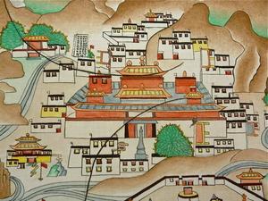 ペンパ・ワンドゥの「鎮魔図」ディテール2