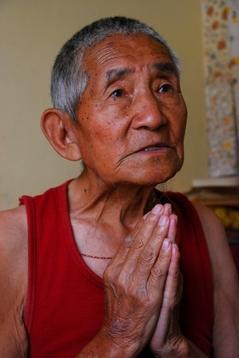 僧トゥプテン・ツェリン83歳4